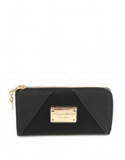 Černá peněženka Anna Smith