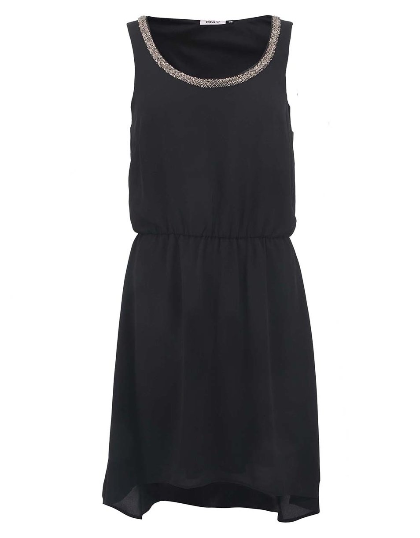 Černé šaty bez ramínek na ples - Sexy móda 33632ea54f4
